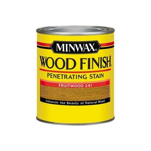 Stain Fruitwood Minwax (Minwax 70010 1 Quart Wood Finish Interior Wood Stain, Fruitwood by Minwax)