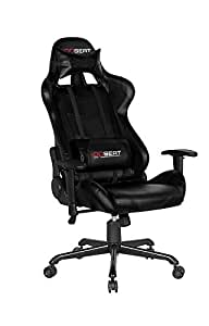 OPSEAT Master Series PC Gaming Chair Racing Seat Computer Gaming Desk Chair (Black)