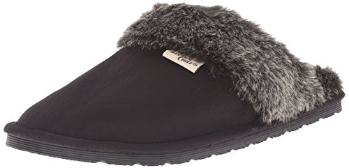 Women Slip Black on Chief Comfort Plush Slipper Western Outdoor Sn5Hq