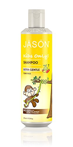 Jason Natural Cosmetics Mild Shampoo for Kids,17.5 Ounce