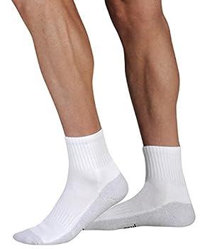 Juzo 5760AB06 M 5760 OTC Silver Sole Unisex Low Cut Anklet Socks 12-16mmHg - Size- Medium