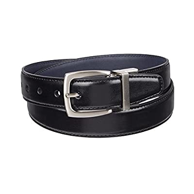 Dockers Boys' Big Reversible Black-to-Brown Belt
