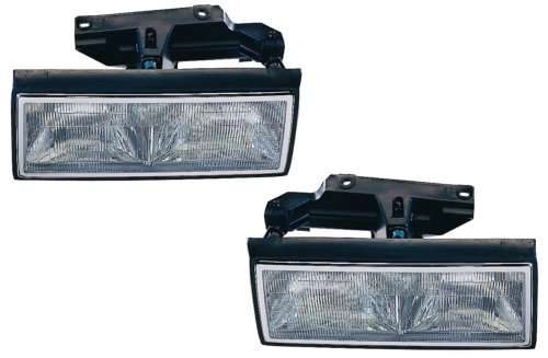 Cadillac Deville/Fleetwood Replacement Headlight Assembly - 1-Pair