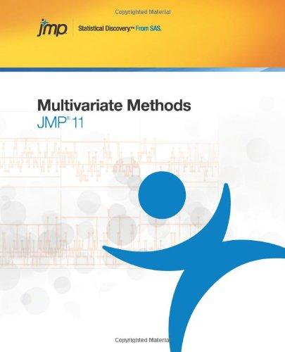 JMP 11 Multivariate Methods