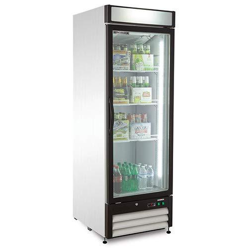 Kratos Refrigeration 69K-726 Swing Glass Door Merchandiser, 1 Door -