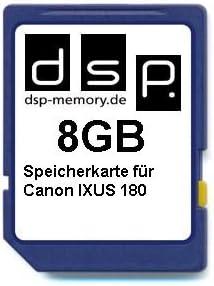 Dsp Memory 8gb Speicherkarte Für Canon Ixus 180 Computer Zubehör