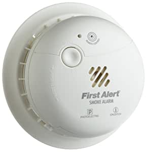 First Alert SA302CN Double Sensor Battery-Powered Smoke and Fire Alarm
