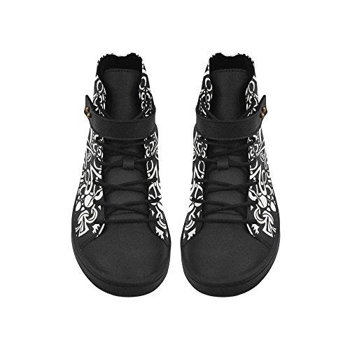 D-story Punta Tonda Scarpe Alte Intricate Sneakers Da Donna Incrociate