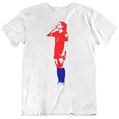 yeoldeshirtshop Alex Morgan Tea Time Us Women's Soccer Fan V3 T Shirt L White