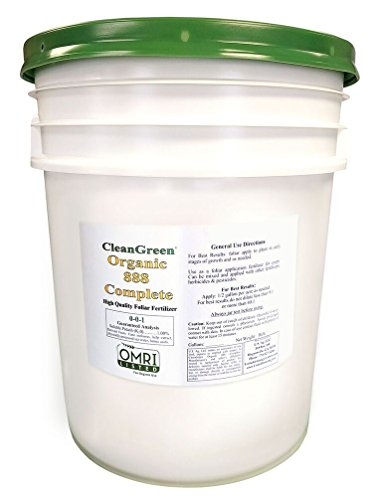 CleanGreen 888 Complete Fertilizer Concentrate Pail, 640 ...