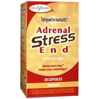 (60 Capsules - Enzymatic Therapy Fatigued to Fantastic Adrenal Stress-End)