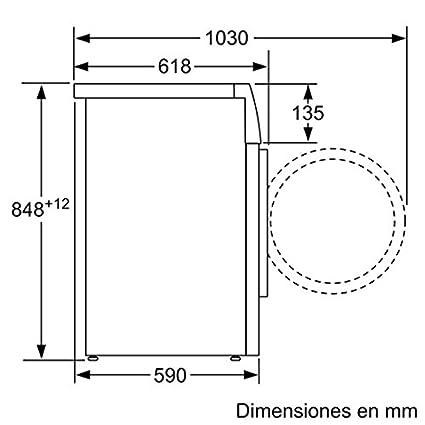 Siemens iQ500 WM14T490ES Independiente Carga frontal 9kg 1379RPM A ...