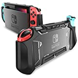 Dockable Case for Nintendo Switch - Mumba [Blade Series] TPU Grip Protective Cover Case Compatible with Nintendo Switch...