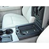 Console Vault Ford Expedition With Sync System 2009-2013 - 1031 - Massive 12 Gauge Cold Rolled Plate Steel, Welded Tab And Notch Seams - Superior 3 Point Locking System Resists Prying - Drill Resistant Locks - Easy 10 Minute Installation