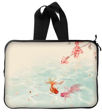 Beautiful Design Goldfish Handle Macbook, Macbook Air 15 inch Laptop Sleeve / Laptop Bag / Laptop Cover / Laptop Sleeve Macbook Air Case Bags (Twin Sides)