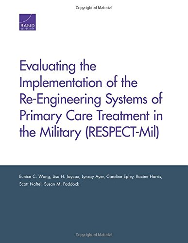 Evaluating the Implementation of the Re-Engineering Systems of Primary Care Treatment in the Military (RESPECT-Mil)