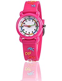 Gifts for 3-10 Year Old Girls Boy, 3D Kids Watch Toy for 4-11 Year Old Little Gift for Girl Boy Age 5-12 Present Birthday Ideal