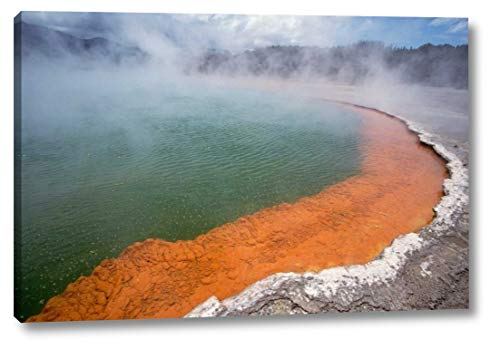 Champagne Pool, a Volcanic Lake, Waiotapu, Rotorua, New Zealand by Tui De Roy - 19