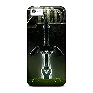 Perfect Hard Phone Cases For Iphone 5c With Support Your Personal Customized Lifelike The Legend Of Zelda Series RudyPugh
