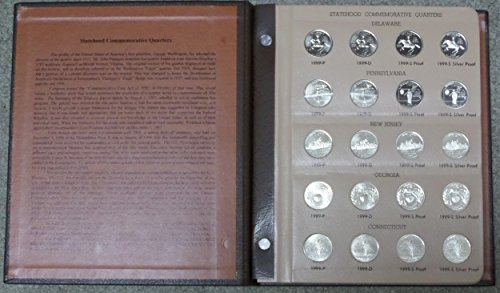 1999 P, D, S, S 1999 - 2008 - The Ultimate State Quarter Collection - 200-coins P&D, Proof and Silver Proof State Quarter Set in a Dansco Albums Proof ()