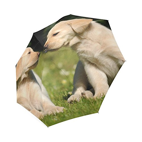 Price comparison product image Puppy Dog Pet 100% Polyester Pongee Waterproof Foldable Travel Fashion Umbrella