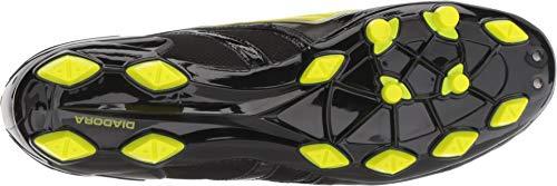 10 Fluo Yellow D Men's Shoes 18 Maracana Black Molded Soccer Men's US MD M Diadora 6Oq0w0