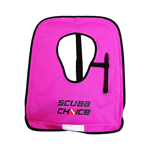 Scuba Choice Adult Diving/Snorkeling Vest with Name Box, X-Large, Purple