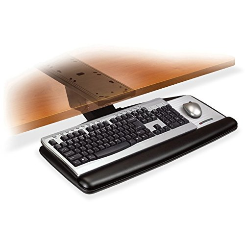 Adjustable 3m Keyboard (3M AKT170LE Ergonomic - Adjustable Keyboard Tray 26 1/2 x 23 x 8)