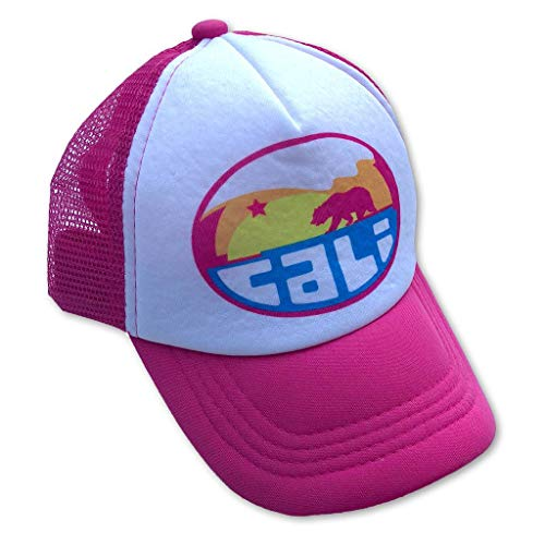 Sol Baby California Mountain Wave Infant/Toddler Hot Pink Trucker Hat-L-Pink