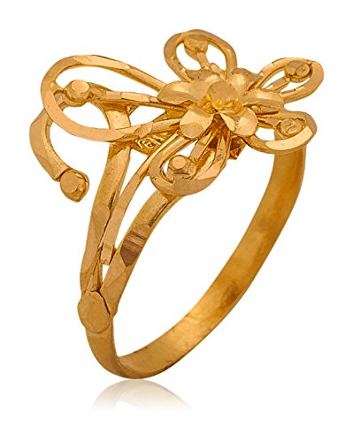 Buy Senco Gold Aura Collection 22k Yellow Gold Ring line at Low