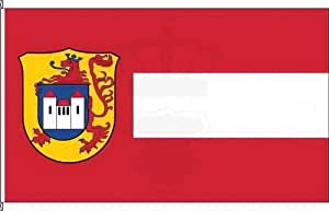 Vertical Bandera Münster appel–80x 200cm–Bandera y