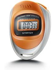 Silva stopwatch stopwatch starter oranje, 75 x 59 x 23 mm