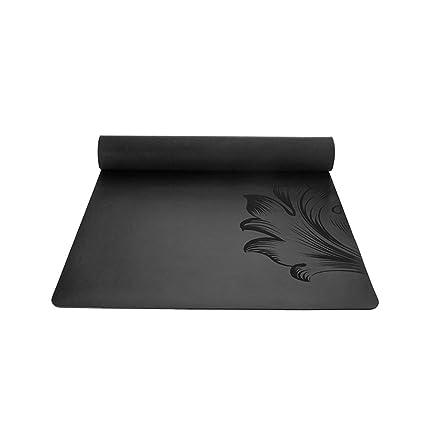 YXGYJD Pilates Mat Yoga Mat Rubber Yoga Mat, Non-Slip, Wear-Resistant