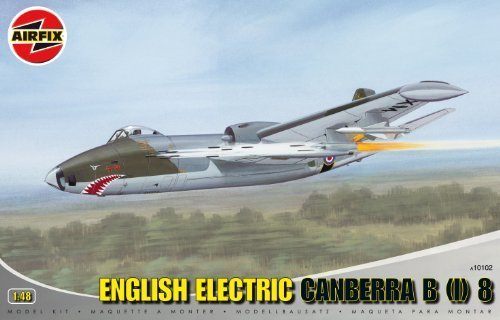 Airfix A10102 English Electric Canberra B(I)8 1 48 Scale Series 10 Plastic Model Kit by Airfix