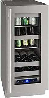 product image for U-Line UHBV515SG41A 5 Class Series 15 Inch Stainless Steel Freestanding or Built In Beverage Center, Stainless Steel