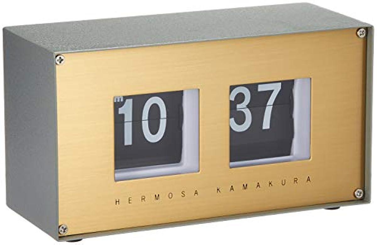 [해외] 갯장어사 HERMOSA 탁상시계 RP-002SX pivot clock 색스폰