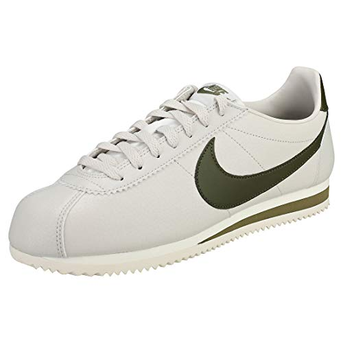 Bone Canvas Light Olive Classic Leather Men's Cortez 004 Fitness sail Shoes Mehrfarbig NIKE aw8C4q
