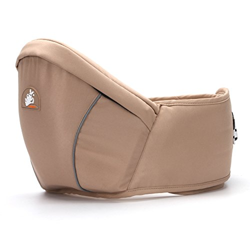 Fashional Baby Hip Seat for 0-3 Years Old Baby (Khaki)