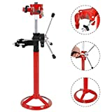 GHP 20'' Max Height Red Steel Hand Operated Strut Coil Spring Press Compressor Machine