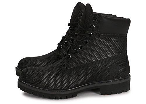 Premium Bj9 Reticolo Boot Donna 6in Timberland Stivali Classici Esagonale Nero a5qpnvw