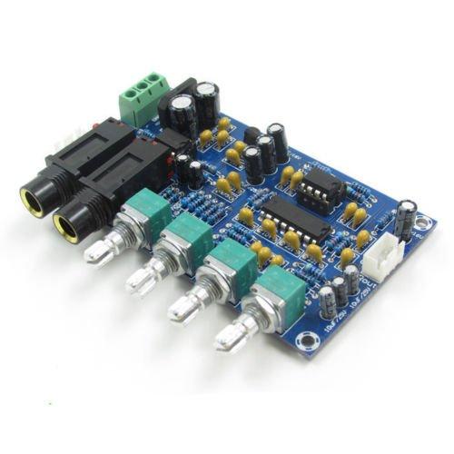 UTP AC 12V microphone amplifier board Karaoke reverberation board