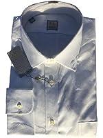 Ike Behar Men's White Full Sleeve Shirt RETAIL $225