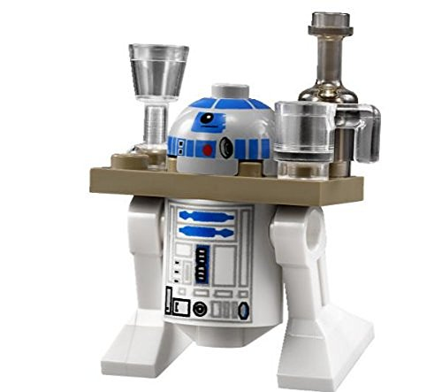Lego Star Wars Minifigure R2-D2 with Drink Serving Tray](Lego R2d2 Minifigure)