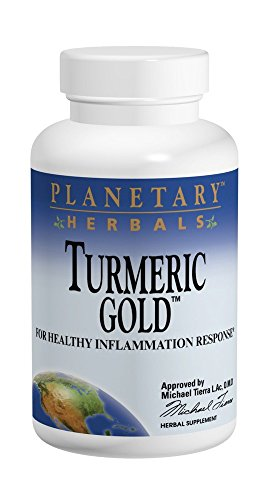 Planetary Herbals Turmeric Gold 500mg, For Healthy Inflammation Response, 120 Tablets Review