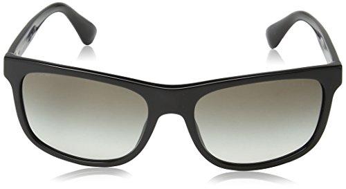 15RS PLAQUE PR Black Prada Sonnenbrille qHB60zzw