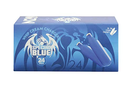 360 Special Blue European Premium N2O Whipped Cream Chargers - 15 boxes of 24