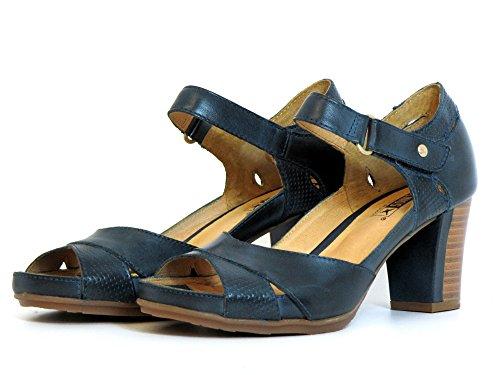 Pikolinos Mujeres Zapatos de tacón azul, (blau) W0K-0972 OCEAN Ocean