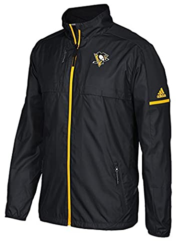Pittsburgh Penguins Adidas NHL Authentic Rink Jacket (Medium) - Pittsburgh Penguins Jacket