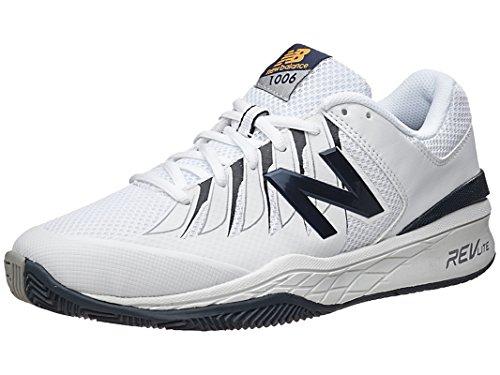 New Balance Men's MC1006V1 Black/White Tennis Shoe - 10 2E US