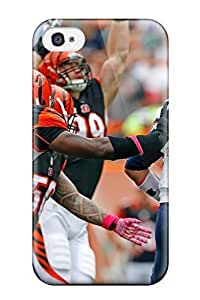 Beautifulcase bengals patriots NFL Sports & Colleges newest iPhone 4/4s case covers EW6f4fXBW6i